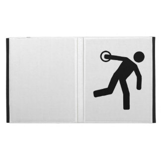 Discus throw iPad folio covers