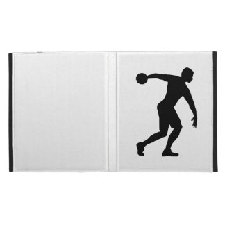 Discus throw iPad folio cover