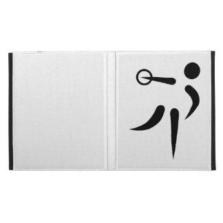 Discus throw iPad case