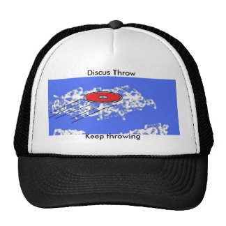 Discus throw hats