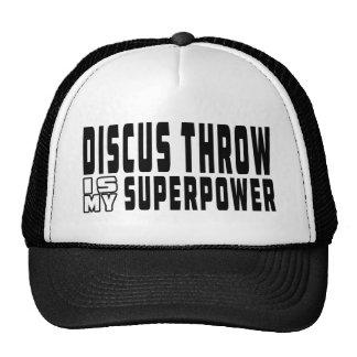 Discus throw is my superpower trucker hat