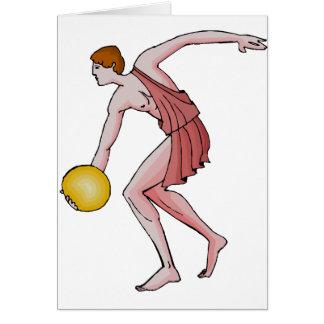 Discus Thrower 396 BC Card
