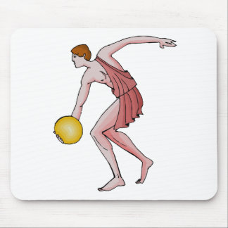 Discus Thrower 396 BC Mouse Pad