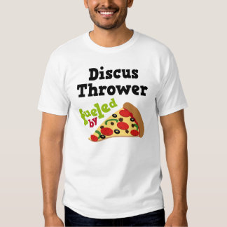 Discus Thrower (Funny) Pizza T Shirt