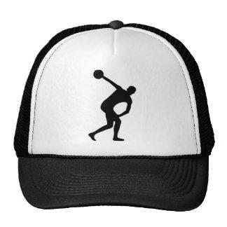 discus thrower trucker hat