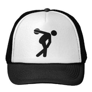 Discus Throwing Trucker Hat