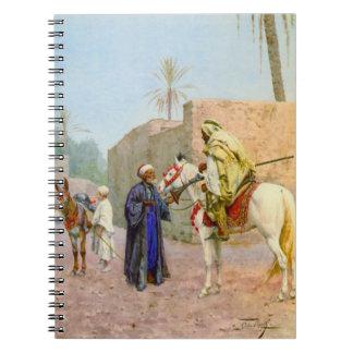 Discusión 1875 del desierto cuaderno