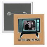 Discusión 1960 de Kennedy Nixon Pins