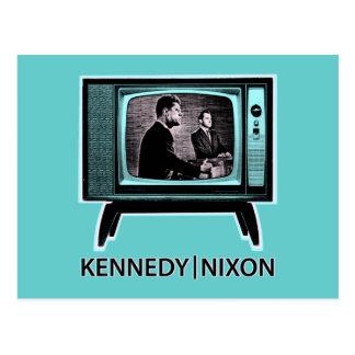 Discusión 1960 de Kennedy Nixon Postales