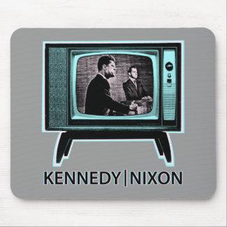 Discusión 1960 de Kennedy Nixon Tapetes De Raton
