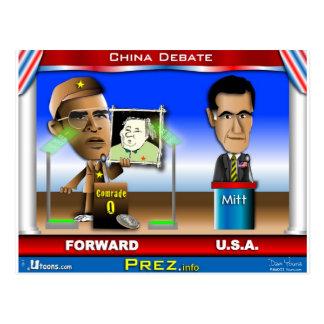 Discusión de China Tarjetas Postales