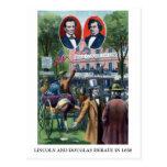 Discusión de Lincoln-Douglas de 1858 Postales