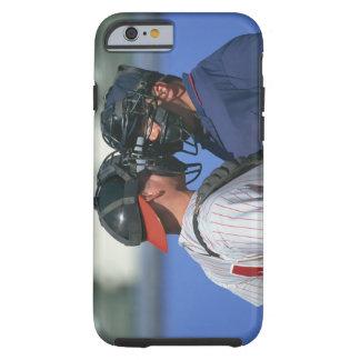 Discusión del colector y del árbitro del béisbol funda de iPhone 6 tough