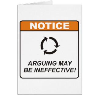 Discusión/ineficaz Felicitación
