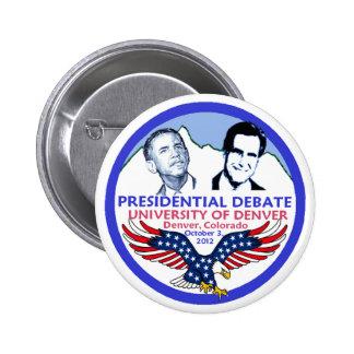 Discusión presidencial pin