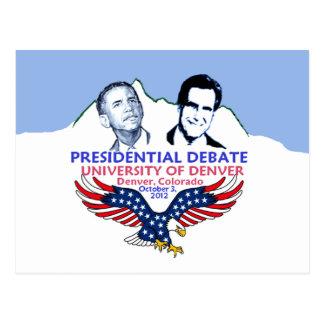 Discusión presidencial postal
