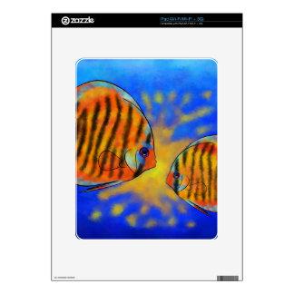 Discussios V1 - amazing discus iPad Skin
