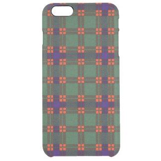 Dise clan Plaid Scottish kilt tartan Clear iPhone 6 Plus Case