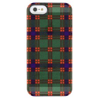 Dise clan Plaid Scottish kilt tartan Clear iPhone SE/5/5s Case