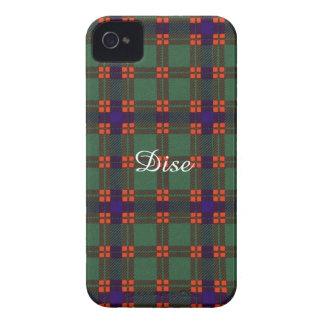 Dise clan Plaid Scottish kilt tartan iPhone 4 Cover