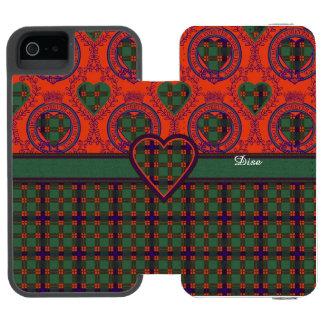 Dise clan Plaid Scottish kilt tartan iPhone SE/5/5s Wallet Case