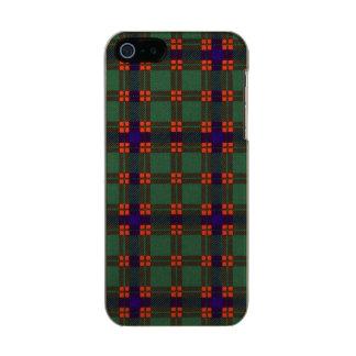 Dise clan Plaid Scottish kilt tartan Metallic Phone Case For iPhone SE/5/5s