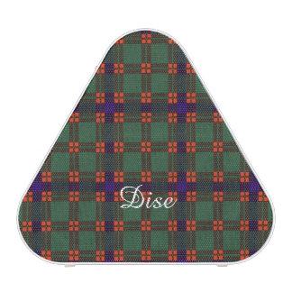 Dise clan Plaid Scottish kilt tartan Speaker