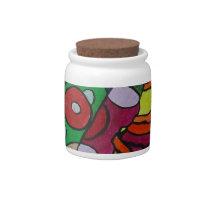 Diseased Candy Jar