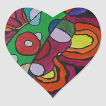 Diseased Heart Sticker
