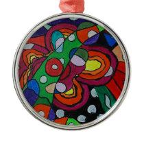 Diseased Metal Ornament