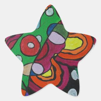 Diseased Star Sticker