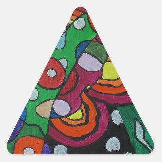 Diseased Triangle Sticker