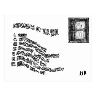 Diseases of The Soul Postcard
