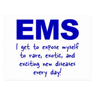 Diseases Postcard