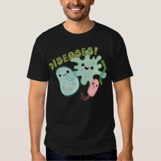 diseases tee shirt