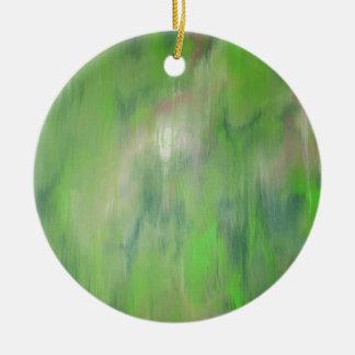 Diseñado de la pintura original viaje por carrete adornos de navidad