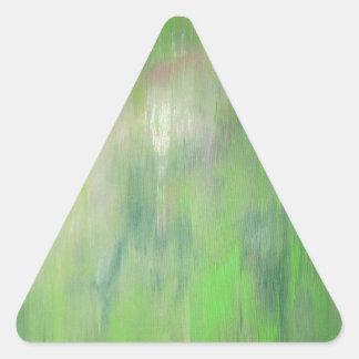 Diseñado de la pintura original viaje por carrete colcomanias triangulo
