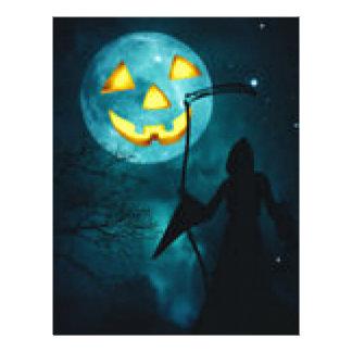 diseñado para el día de Halloween Plantillas De Membrete