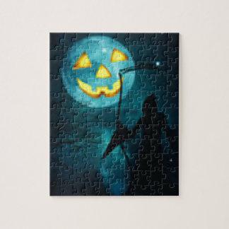 diseñado para el día de Halloween Puzzles Con Fotos