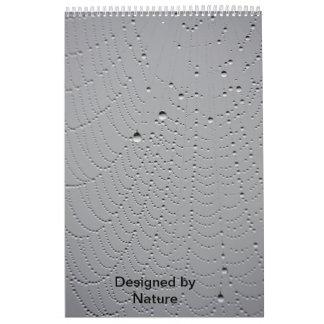 Diseñado por la naturaleza calendarios
