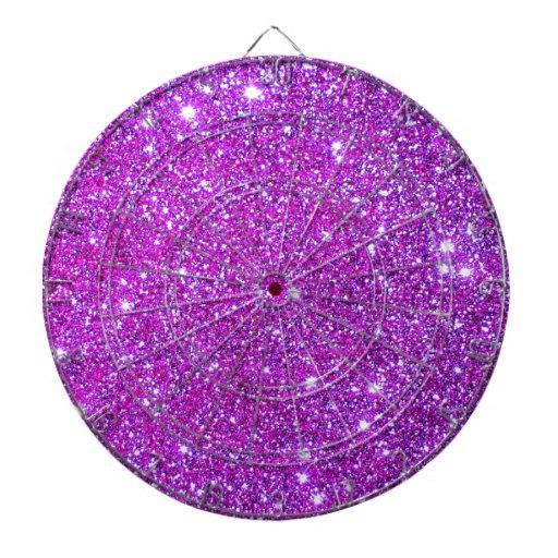 Diseñador atractivo brillante púrpura rosado del b tabla dardos