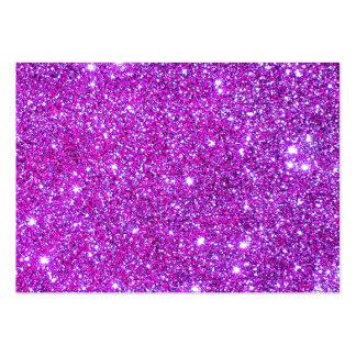 Diseñador atractivo brillante púrpura rosado del tarjetas de visita grandes