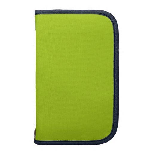 Diseñador azul de la quintilla coloreado planificador