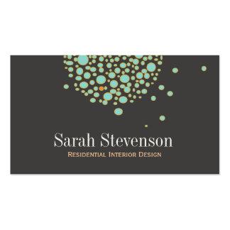 Diseñador creativo único artístico tarjetas de visita