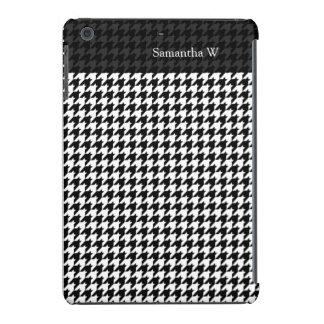 Diseñador de moda elegante negro/blanco de carcasa para iPad mini