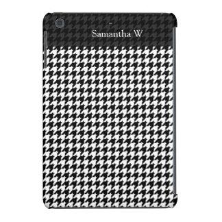 Diseñador de moda elegante negro/blanco de carcasa para iPad mini retina