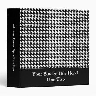 Diseñador de moda elegante negro/blanco de Houndst