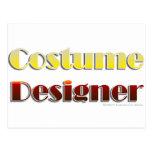Diseñador de vestuario (texto solamente) postal