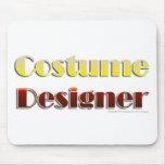 Diseñador de vestuario (texto solamente) tapete de ratones