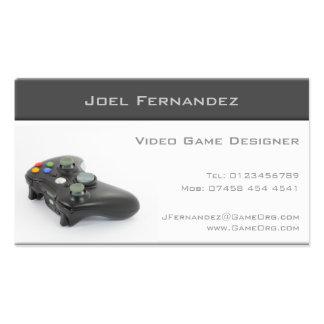 Diseñador del videojuego - tarjeta de visita